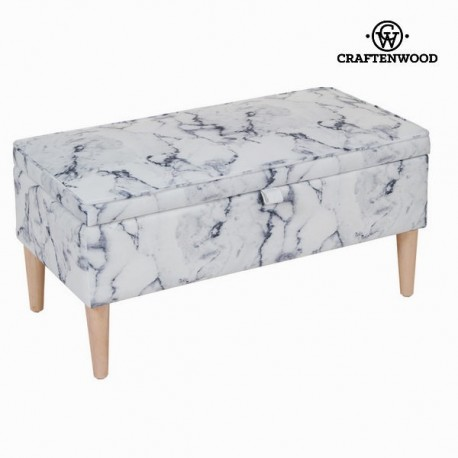 Baule tappezzato marmoreo