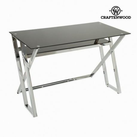 Tavolo scrittoio vetro nero