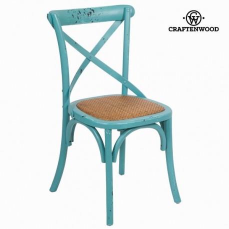 Sedia legno schienale a x