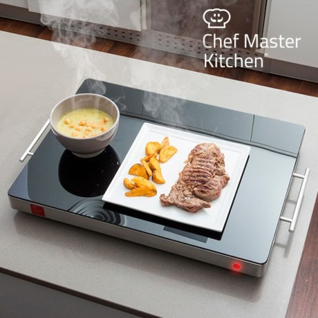 Piastra Scaldavivande Chef Master Kitchen