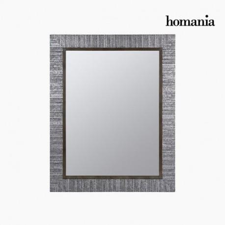 Cornice specchio argento