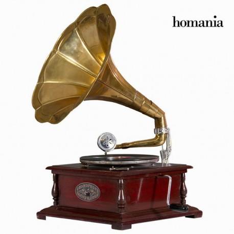 Grammofono quadrato rame