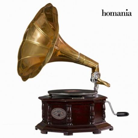 Grammofono ottagonale rame