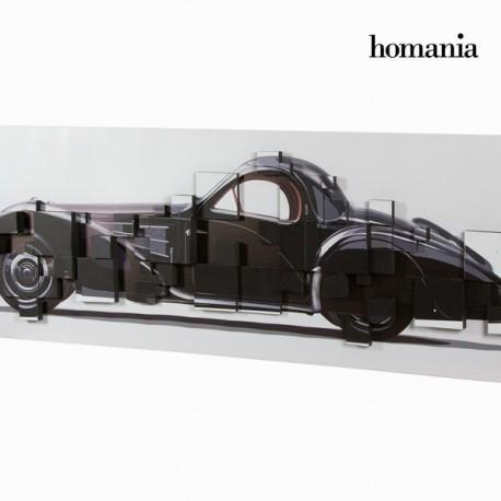 Dipinto 3d macchina nera