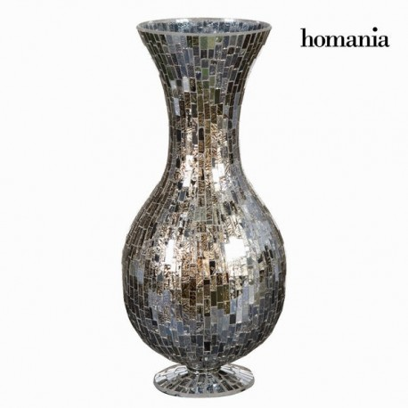 Vaso di vetro mosaico