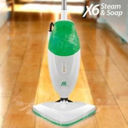Mocio a Vapore Steam & Soap X6