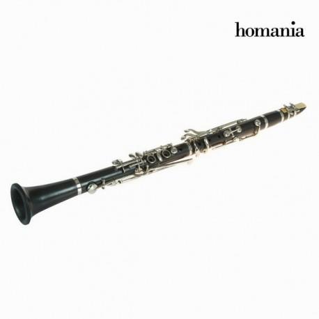 Statuetta clarinetto metallo