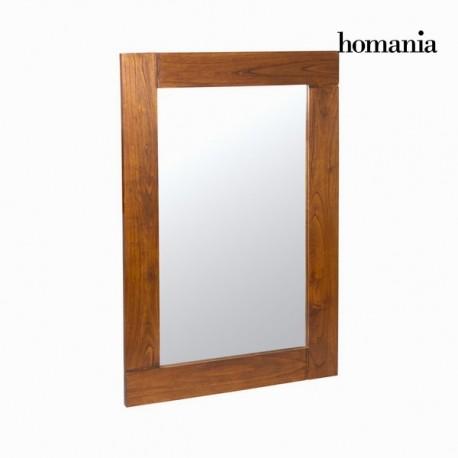 Specchio a muro nature noce