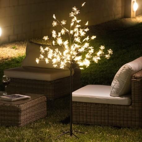 Albero Decorativo con Foglie (120 LED)