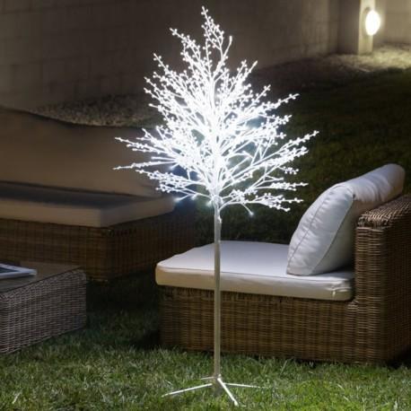 Albero Innevato Decorativo (120 LED)