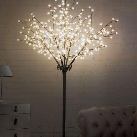 Albero di Natale con rami LED