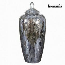 Anfora di cristallo mosaico