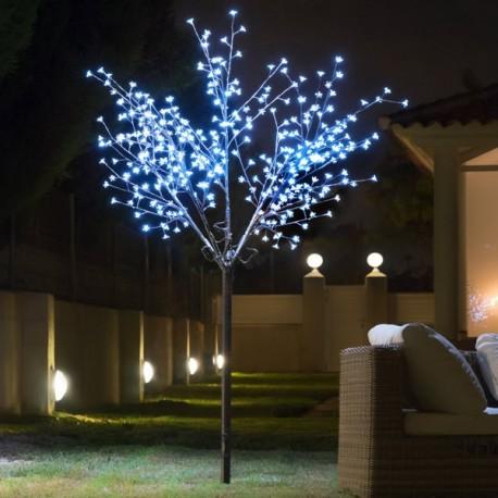 Albero Decorativo con Fiori (350 LED)