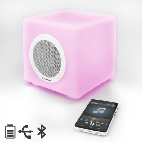 Altoparlante Bluetooth con Luci LED AudioSonic SK1539