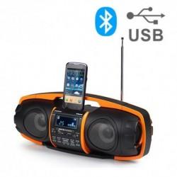Radio Lettore MP3 Bluetooth AudioSonic RD1548