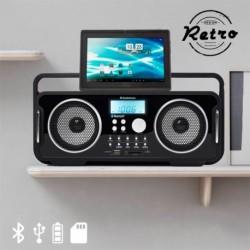 Radio Retro Bluetooth Ricaricabile AudioSonic RD1556