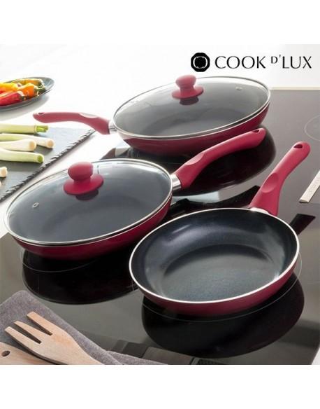 padelle in ceramica Cook D'Lux (5 pezzi)
