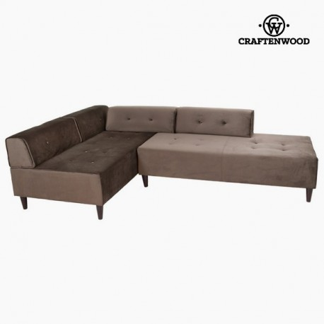 Chaise lounge grigia ceos