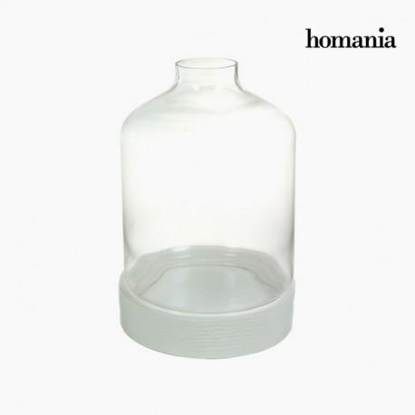 Centrotavola di ceramica bianco