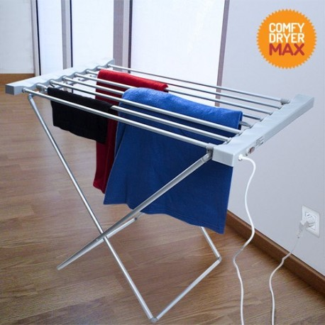 Stendibiancheria Elettrico Comfy Dryer Max (8 sbarre)