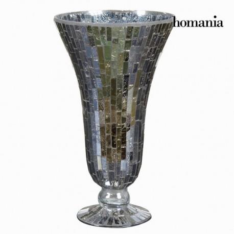 Vaso coppa mosaico cristallo