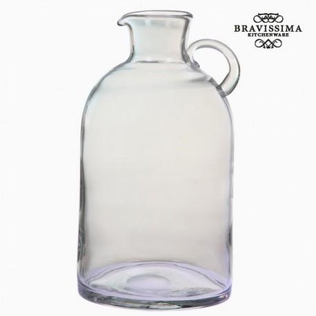 Vasetto di vetro trasparente con manico by Bravissima Kitchen