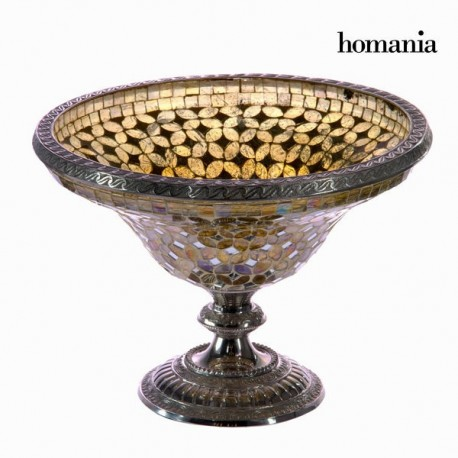Centrotavola mosaico dorato