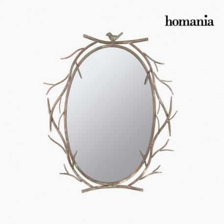 Specchio di metallo rami