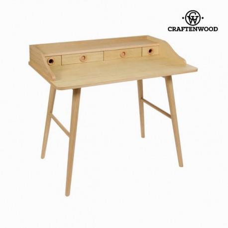 Bureau wood 4 cassetti