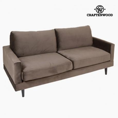 Ampio divano a 2 posti grigio cos