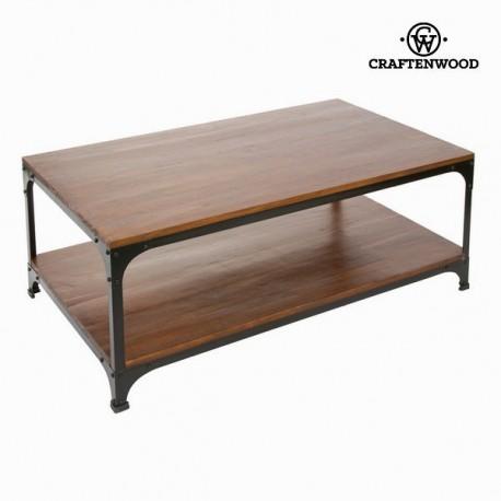 Tavolino legno e metallo