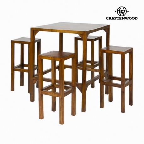 Tavolo alto con 4 sgabelli
