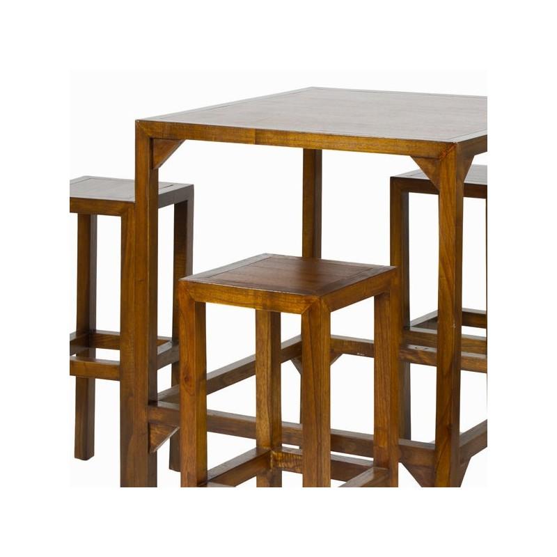 Tavolo alto con 4 sgabelli toos lo shopping a casa tua - Tavolo alto con sgabelli ...