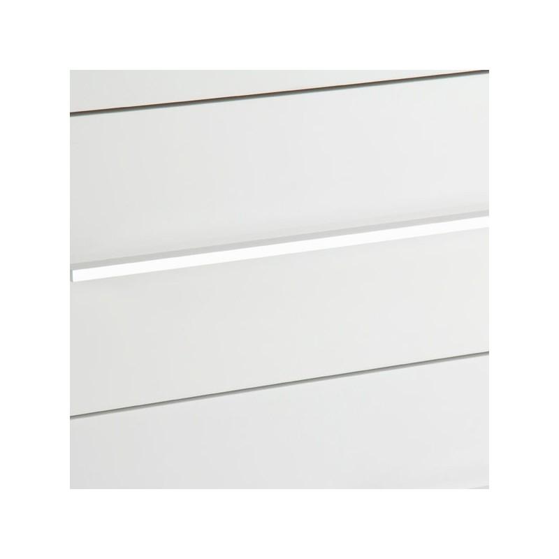 Cassettiera bianca laccata - Toos   lo shopping a casa tua