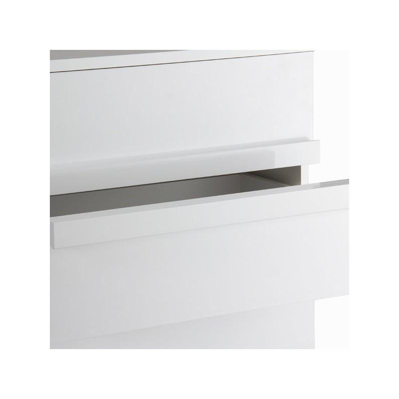 Cassettiera bianca laccata - Toos | lo shopping a casa tua