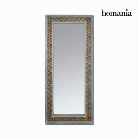 Specchio rettangolare marrone