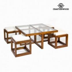 Tavolino con 4 sgabelli