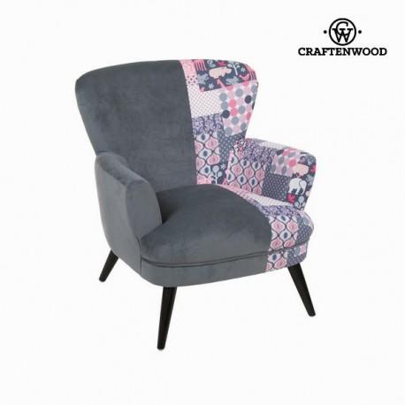 Sedia a sdraio con braccioli patchwork