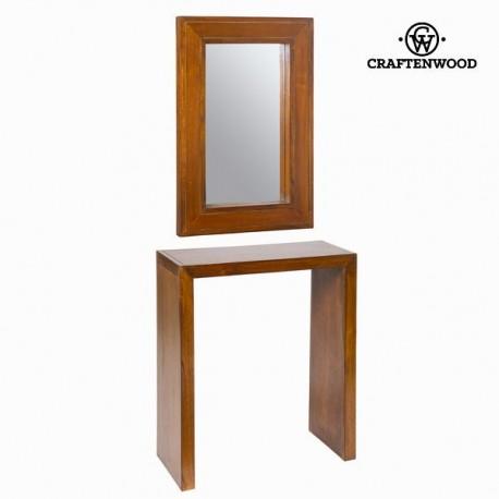 Console ingresso con specchio forest