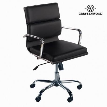 Sedia ufficio di design nera toos lo shopping a casa tua for Sedia design nera