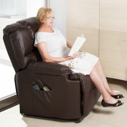 Poltrona Relax Massaggiante Craftenwood 6002