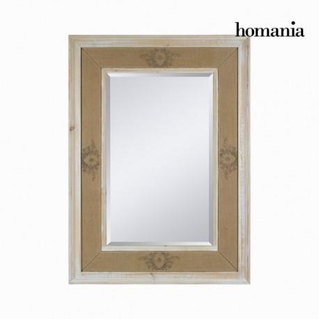 Specchio di legno