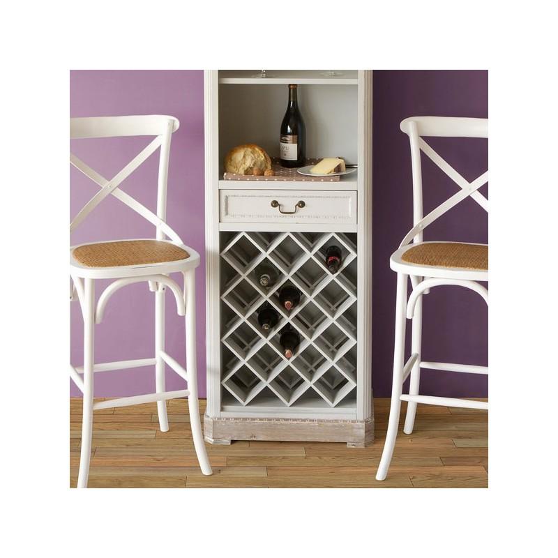 Sgabello legno a x bianco toos lo shopping a casa tua for Sgabello bianco legno